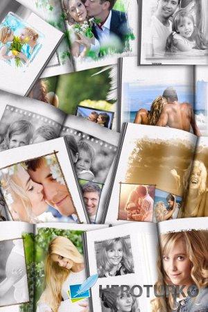 Фотокнига для фотографий – Нарисую я портрет