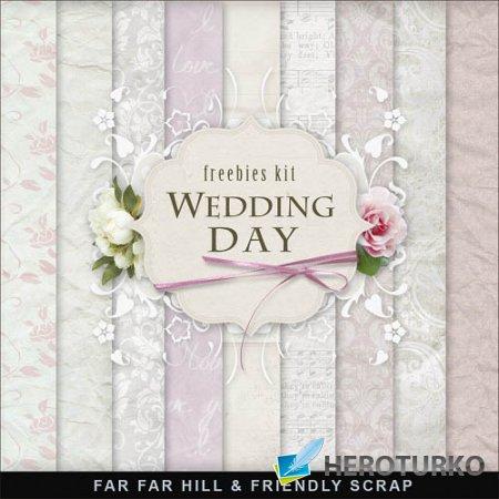 Скрап-набор - День свадьбы