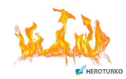 Клипарты на все случаи - Огонь и пламя png