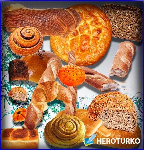 Большая колекция Клипартов - Хлебная выпечка