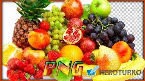 Картинки в формате png - Фрукты и фруктовые нарезки