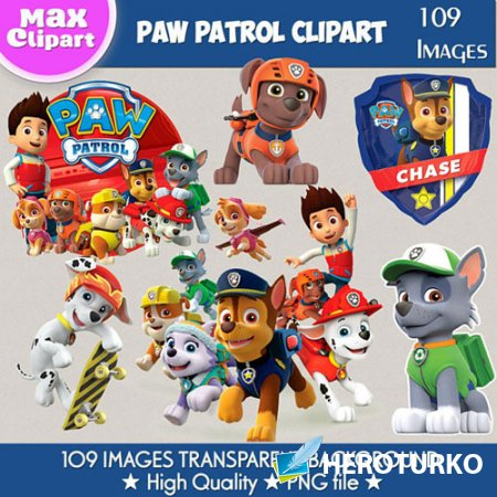 Paw Patrol clipart