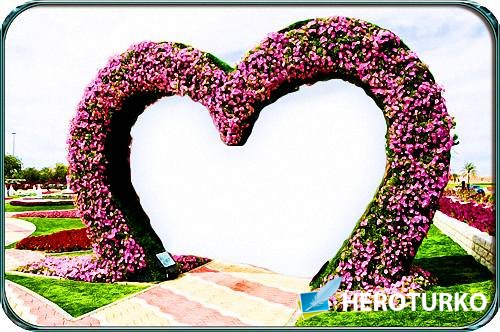 Красивая рамка - Цветочная арка