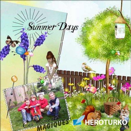 Летний скрап-набор - Summer Days